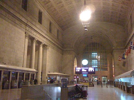Union Station Toronto (43° 38' 38.4
