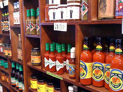 Hot Sauce at Taste, on the Danforth