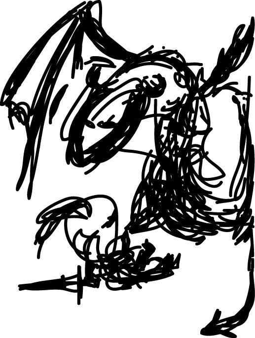 Adobe Ideas sketch on iPad