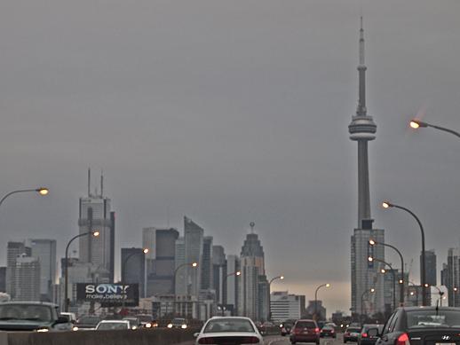 Toronto Skyline - Jan 1, 2011