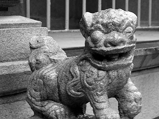 Hong Kong Stone Dragon - May 21, 2011