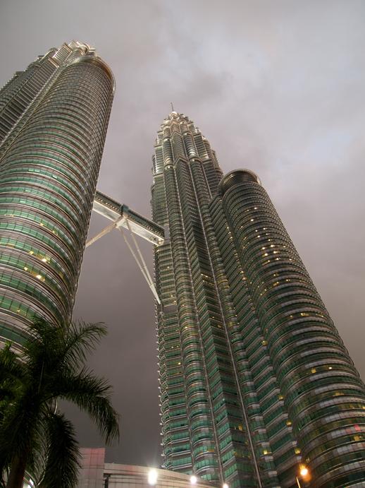 Kuala Lumpur Petronas at Dusk - June 14, 2011