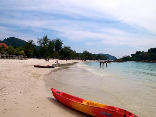 Pulau Redang Kayak - July 8, 2011