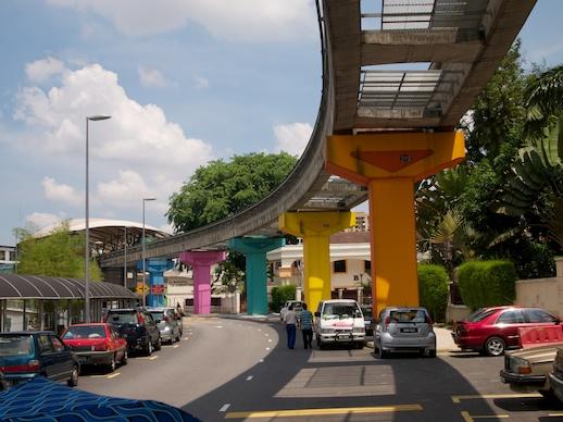 Kuala Lumpur Monorail Track - July 10, 2011