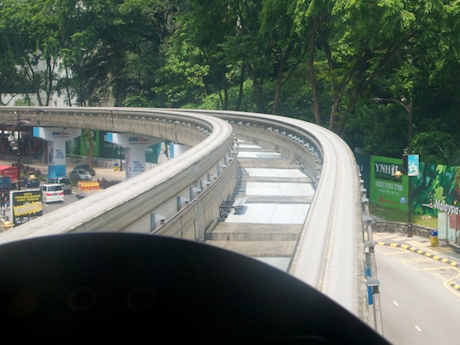 Monorail Track - July 28, 2011