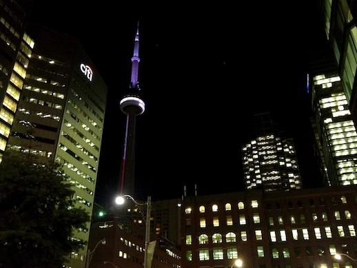 CN Tower- November 26, 2011