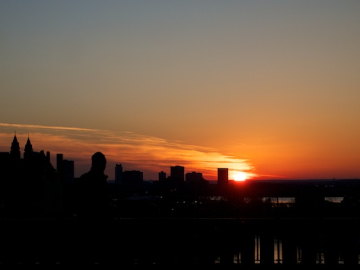 Ottawa Sunset - December 7, 2011