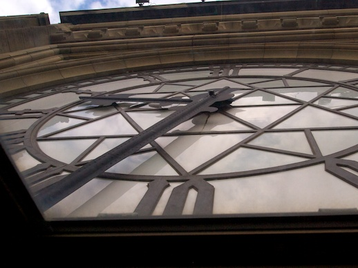 Peace Tower Clock - December 10, 2011